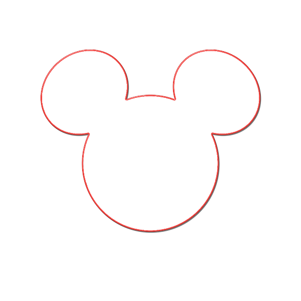 Disney Clipart Coloring Pages Mickey 2bhead 2boutline 2b2 Coloring Disney Cruise Door Decorations Disney Cruise Magnets Disney Cruise Door Magnets Templates