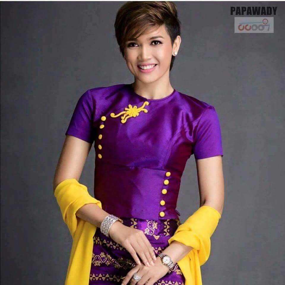 Traditional Dresses Designs, Myanmar