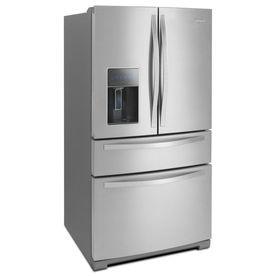 26 2 Cu Ft 4 Door French Door Refrigerator With Single Ice Maker