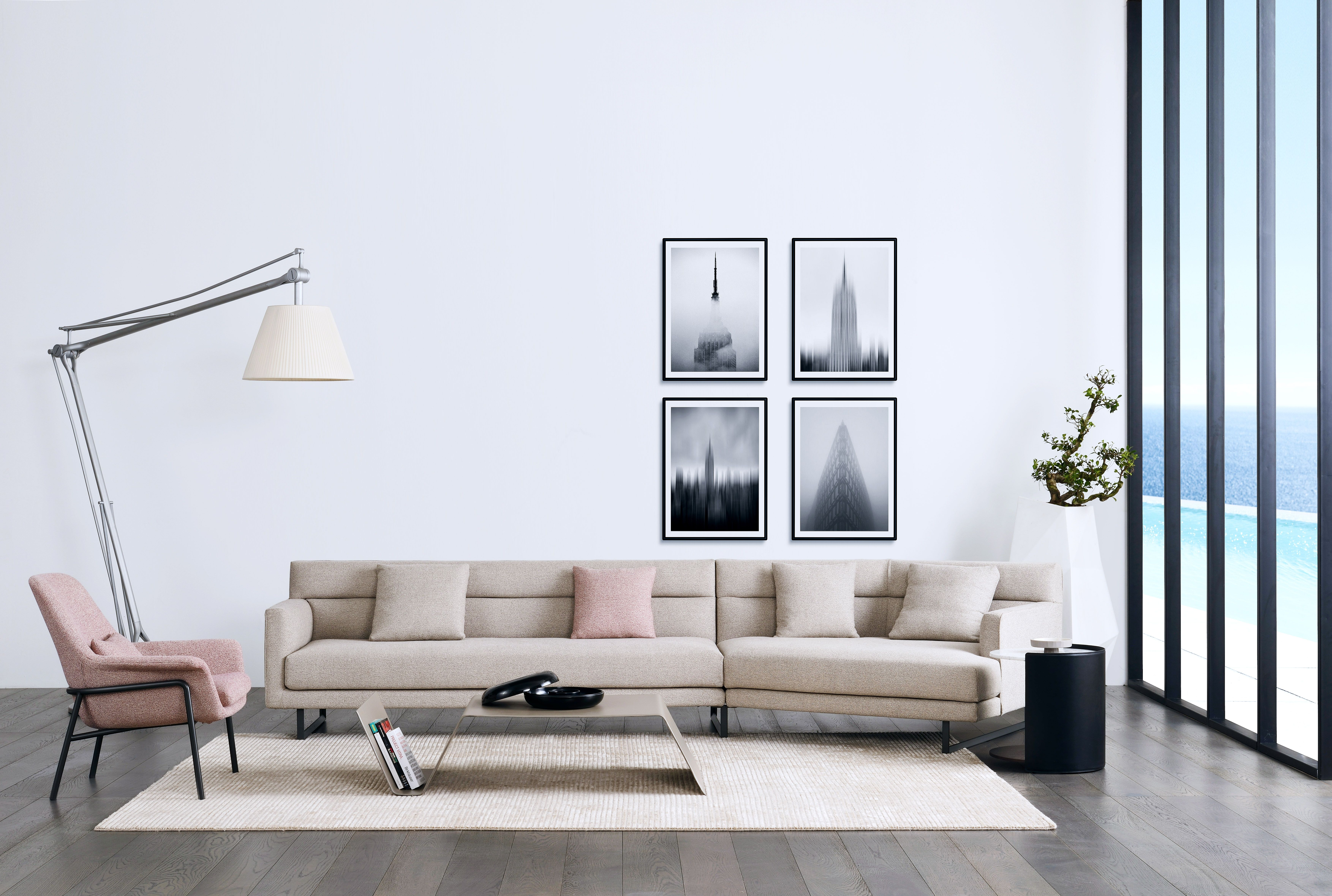 Stunning Amor Sofa Offers Relaxation In A Classic Silhouette