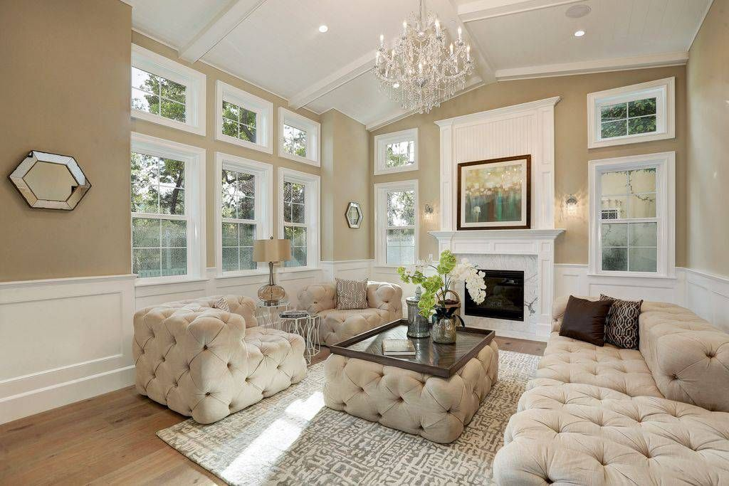 Luxury Living Room Design Ideas Pictures Zillow Digs Throughout Luxury Living Room Design Earth Tone Living Room Tan Living Room Living Room Decor Traditional