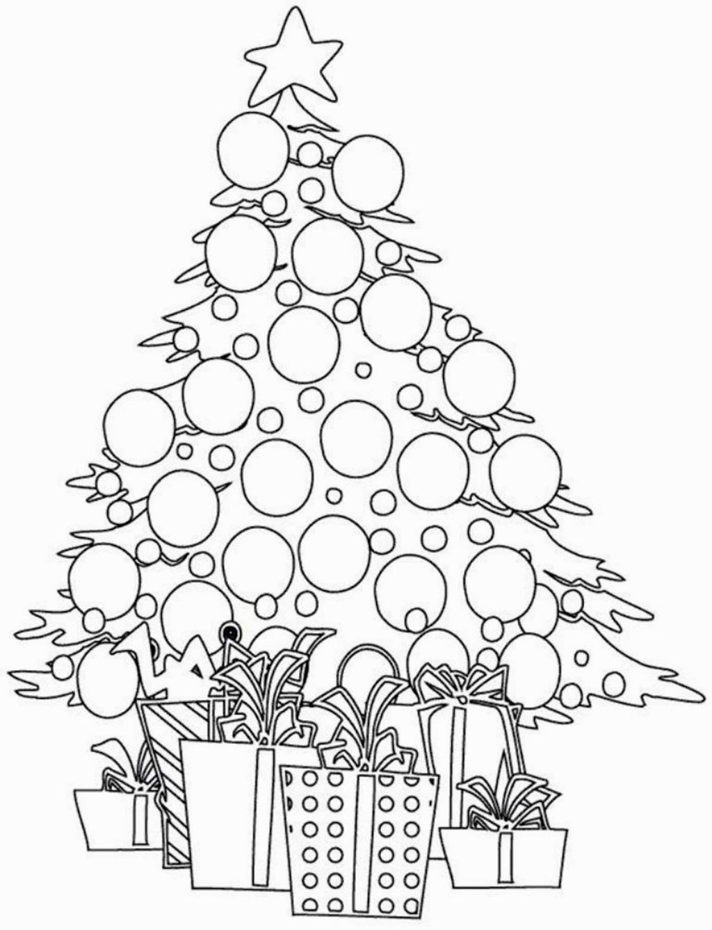 Small Christmas Coloring Pages Christmas Tree Coloring Page Printable Christmas Coloring Pages Mandala Coloring Pages