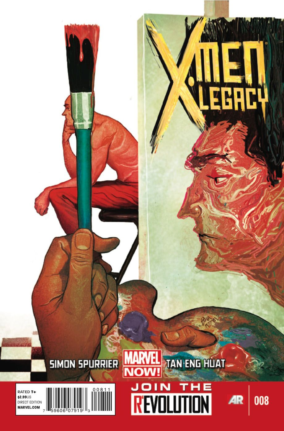 X Men Legacy 8 Cover By Mike Del Mundo X Men Comic Book Artists Comics