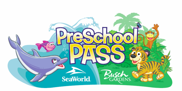 FREE 2015 SeaWorld and Busch Gardens Preschool Pass Gardens