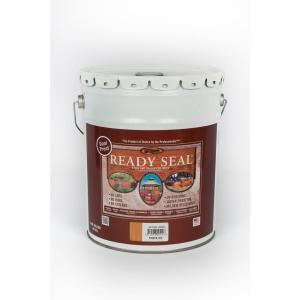 Ready Seal 5 Gal Natural Cedar Exterior Wood Stain And Sealer 512 Exterior Wood Stain Wood Deck Stain Exterior Stain