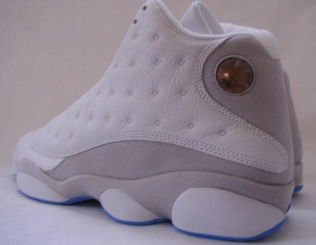 size 40 d7924 1dcb9 Air Jordan 13 (XIII) Retro - White   Neutral Grey - University Blue