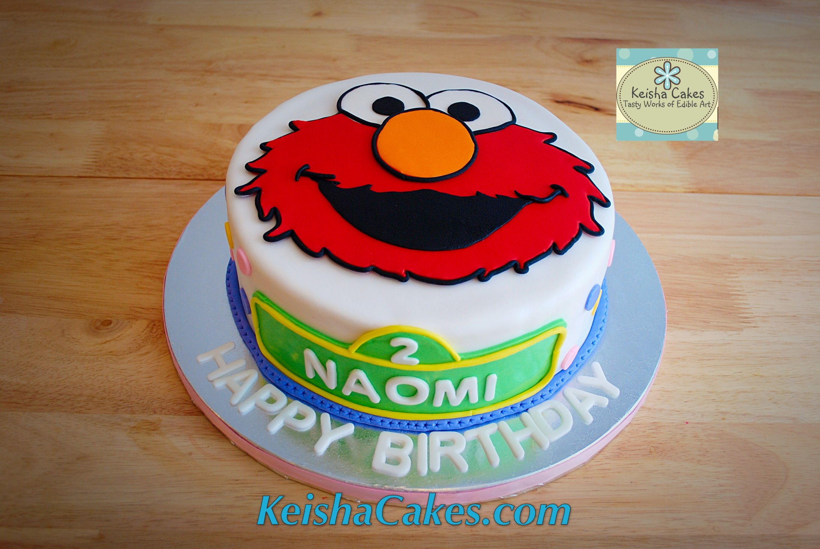 Elmo Face Cake Great For A Second Birthday Love The Sesame