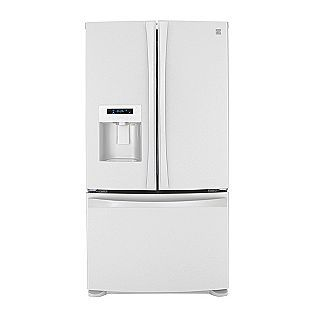kenmore not refrigerator brands ft french bottom cu replacement maker door dryer belt doors elite ice working freezer