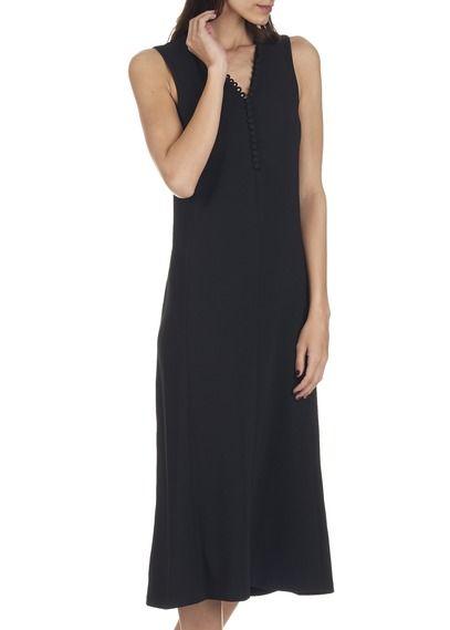 Noir Mode Longue Robe Rayonnante By Fashion amp; Claudie Pierlot UwBB7H1Exq