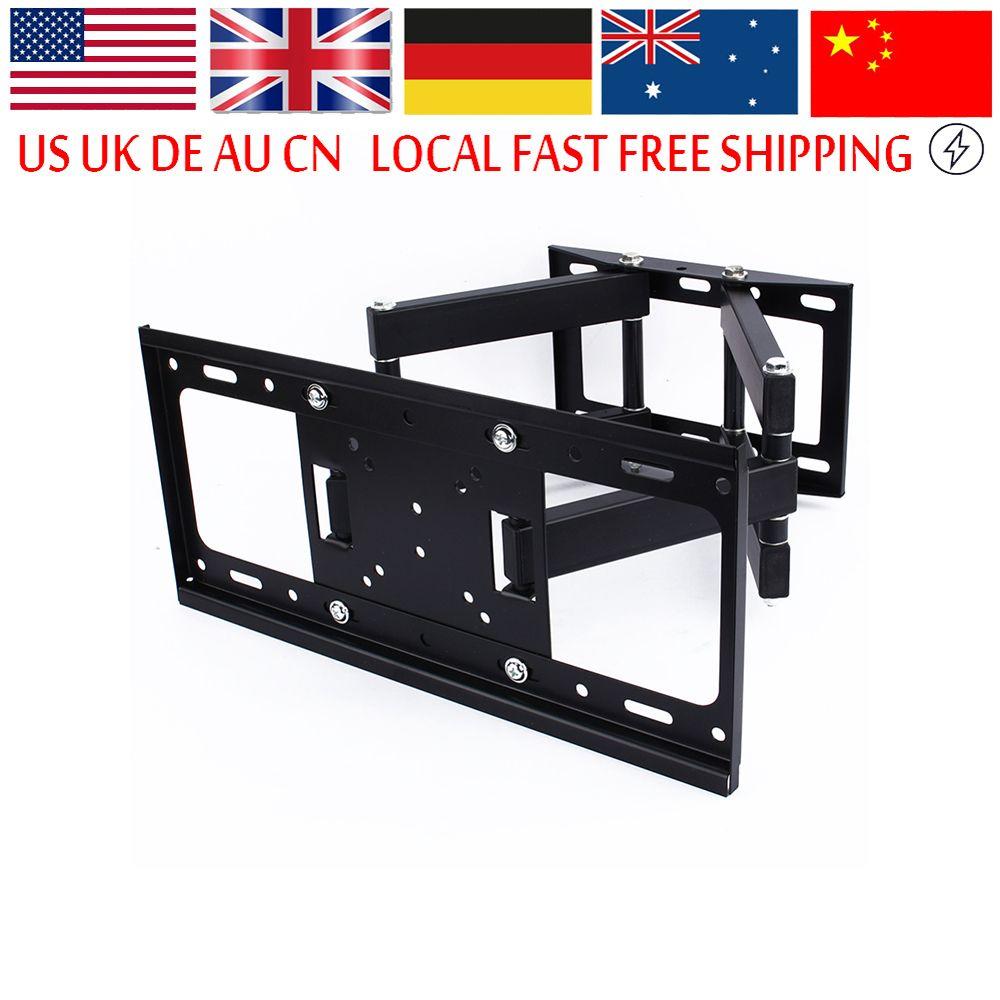 Best Wall Mount For 55 Inch Tv free shipping] buy best tv wall mount bracket lcd arm swivel 3d