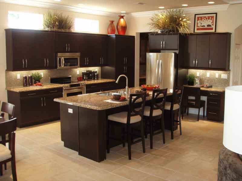 smart kitchen decoration ideas in modern style with clean tidy