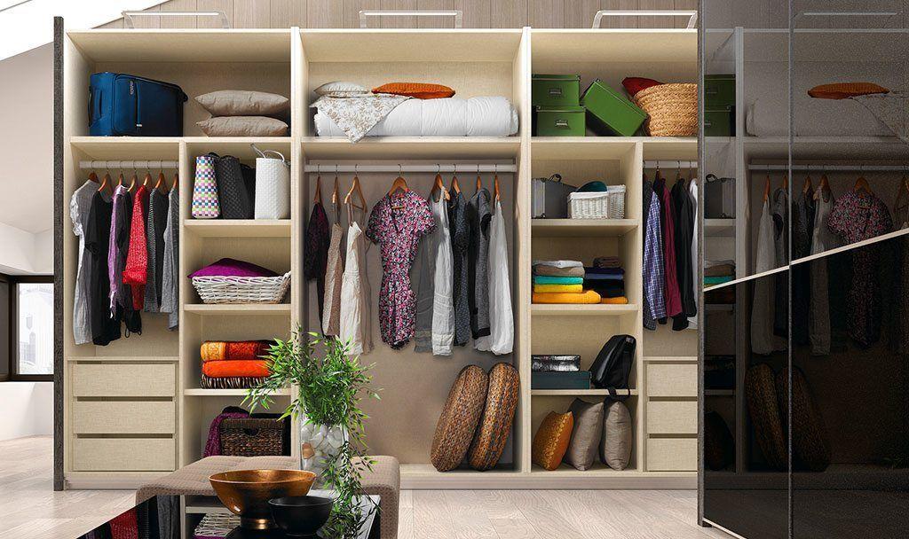 Interiores armarios armarios pinterest - Distribuciones de armarios empotrados ...