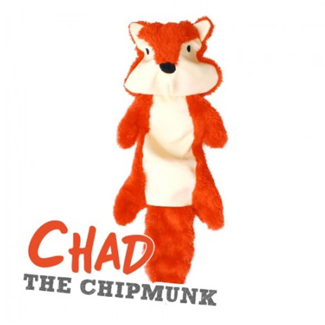 Stuffing Free Dog Toy Chad The Chipmunk Dog Toys Chipmunks