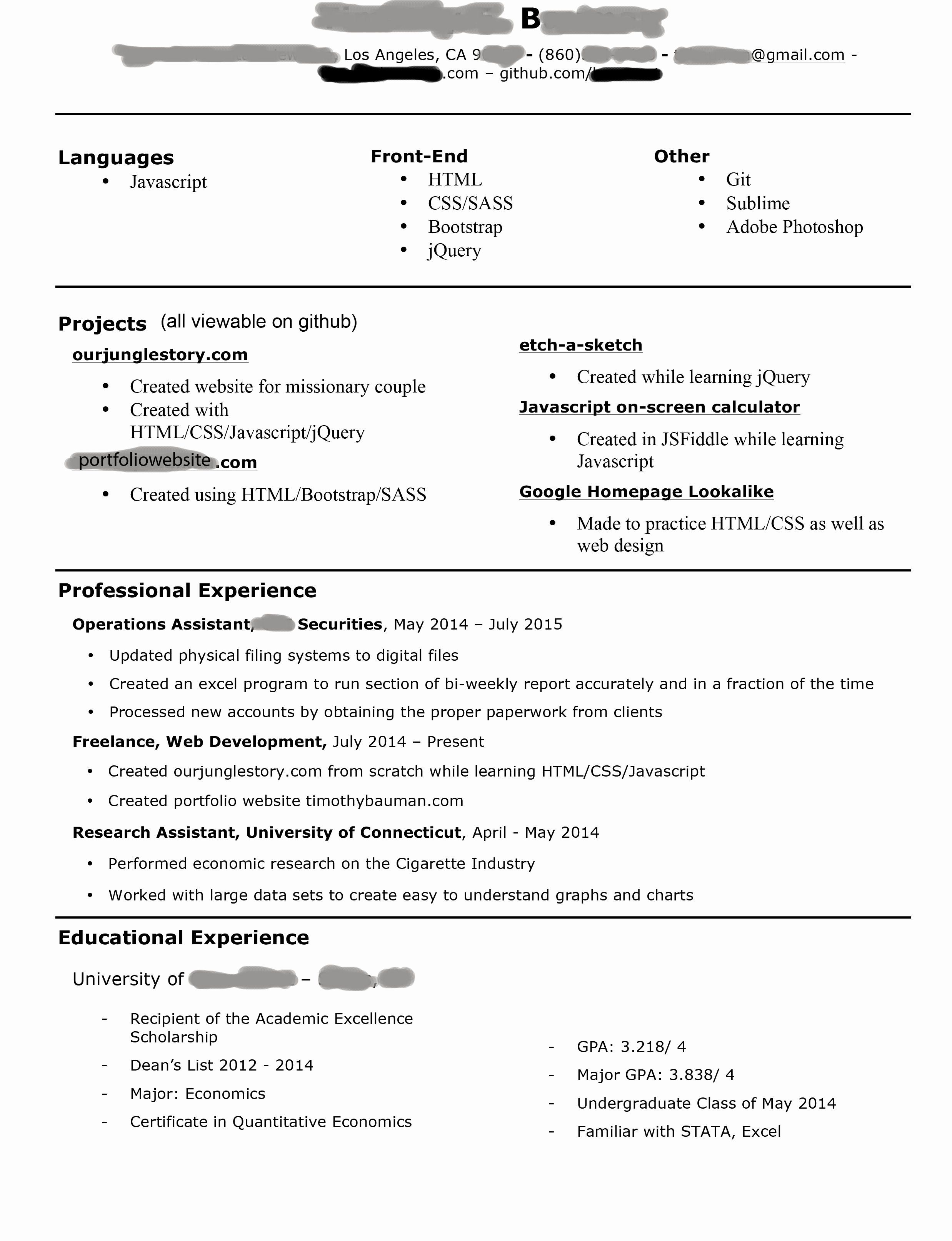 How to Write a Perfect Resume Objective (Resume Examples
