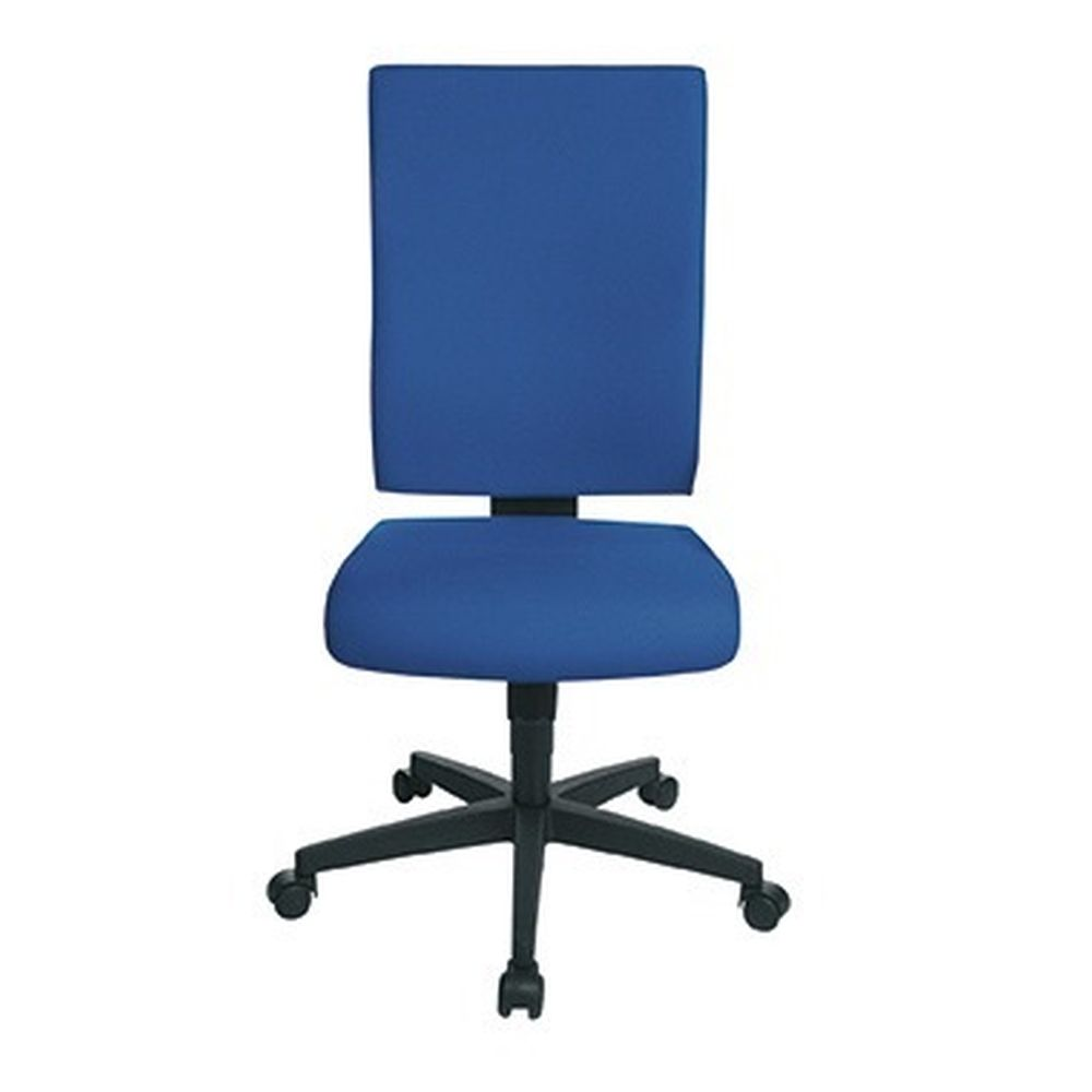 Ergonomische Rückenlehne und Sitz mit komfortabler Knierolle. Lendenwirbelunterstützung. Armlehnen als Zubehör erhältlich. · Norm vorhanden (in Anlehnung an EN-ISO): Ja · Werkstoff: Polypropylen · max. Dauer der Nutzung/Tag: 8 Std./Tag · Masse (Gewicht): 18,9 kg · max. Größe des Nutzers: 1,92 m · max. Höhe: 122 cm · max. Sitzhöhe: 53 cm · min. Höhe: 1020 mm · min. Sitzhöhe: 41 cm · Nettogewicht: 18,9 kg · optionales Zubehör: 2 Armlehnen · Sitzform: Flachsitz · Sitzhöhenverstellbereich: 41-53 cm
