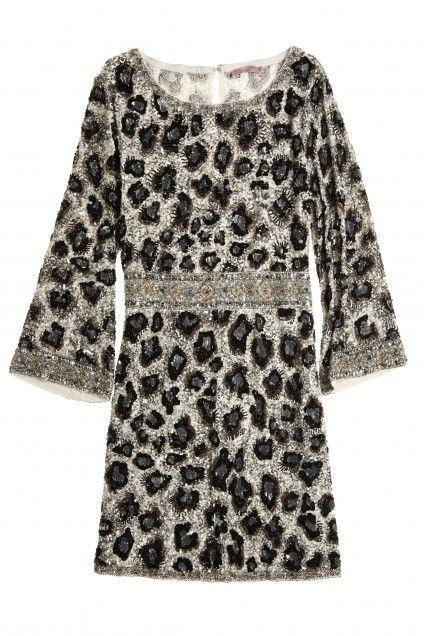 Mignia Sequin Encrusted Leopard Dress | Calypso St. Barth