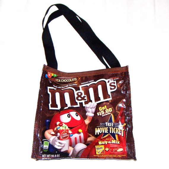 Dollhouse Miniatures Colorful Chocolate with Peanuts Candy Bag 3//4 inch long