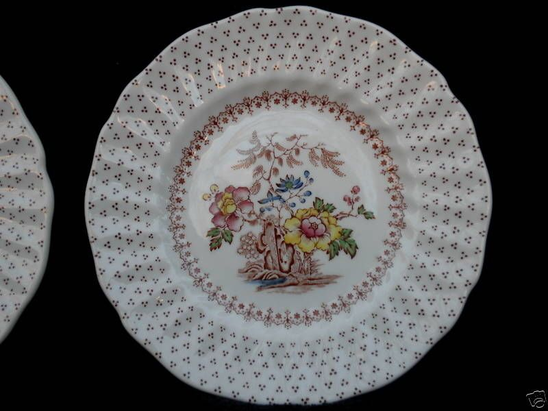 Dinnerware & Royal Doulton UK Bread Side Plate (s) Grantham Pattern Floral c1950s ...