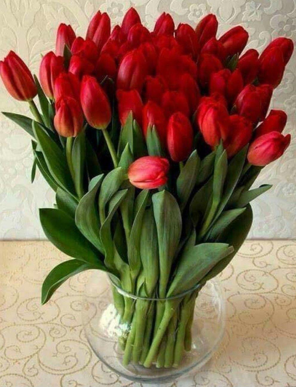 Pin By Sharron Myers On Flowers In 2020 Spring Flowers Tulips Arrangement Beautiful Flowers