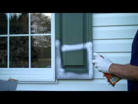 Old Faded Vinyl Shutters Dont Waste Time And Money Painting Clean Them With Tire Foam Paint Vinyl Shutters Painting Vinyl Windows Vinyl Shutters