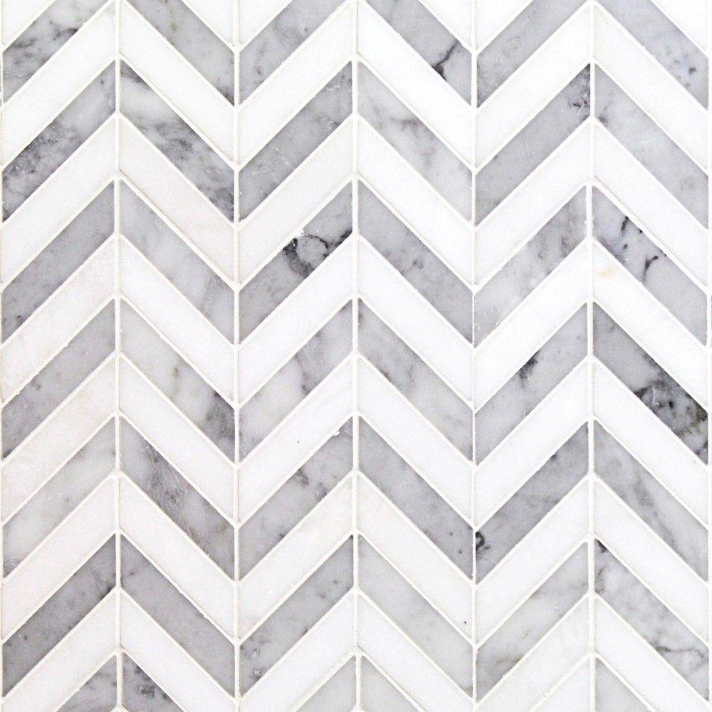 Talon white carrera and thassos marble tile tile pinterest talon white carrera and thassos marble tile dailygadgetfo Gallery