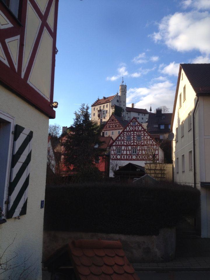 Burg Staffelstein Frankische Schweiz Near Nuremberg Germany Burg Reisen Haus