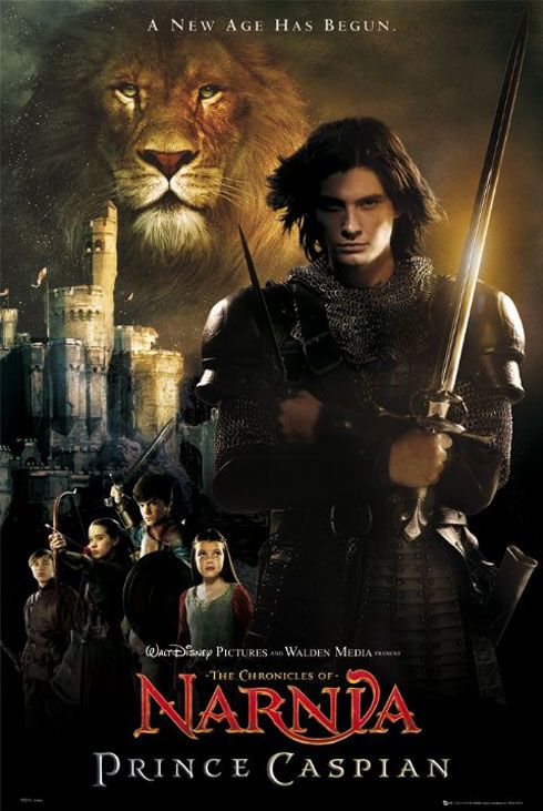 The Chronicles Of Narnia Prince Caspian 2008 Poster 5 As