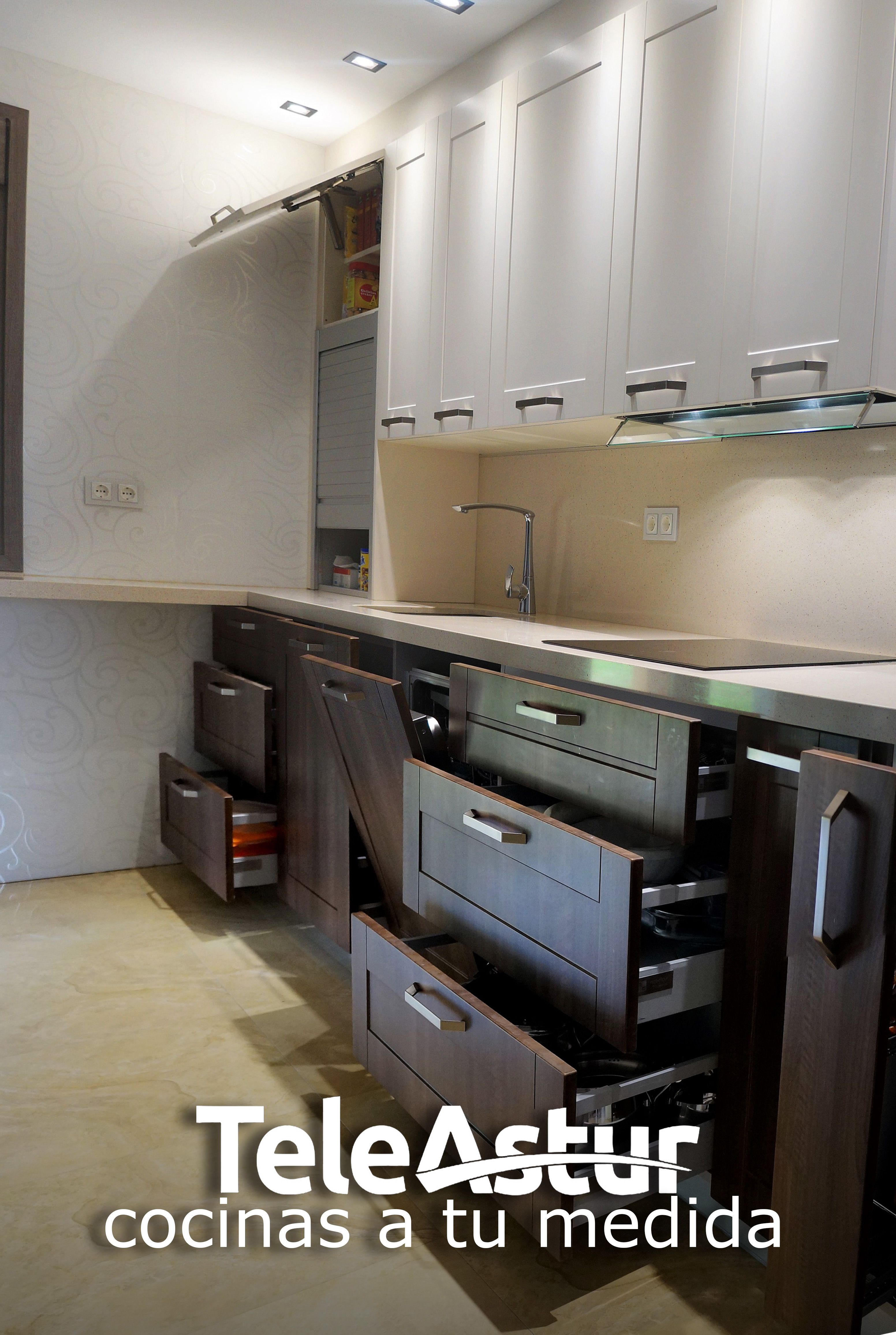 campana integrada | Teleastur Cocinas | Pinterest | Muebles de ...