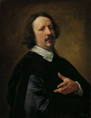 Caspar de Creyer, ca. 1635 (Anthony van Dyck) (1599-1641) Palais Liechtenstein, Wien GE153