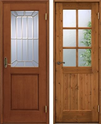 室内ドアリフォーム デザインガラス色々 室内ドア ドアリフォーム 古民家 リノベーション