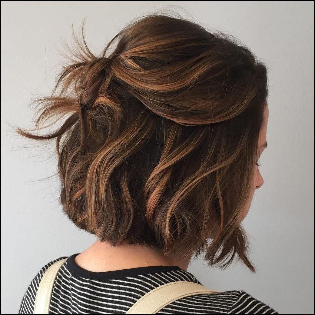 Caramel+Balayage+For+Brown+Bob  Hair Do  Pinterest  Frisur