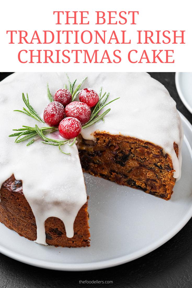 Traditional Irish Christmas Cake Recipe (With images