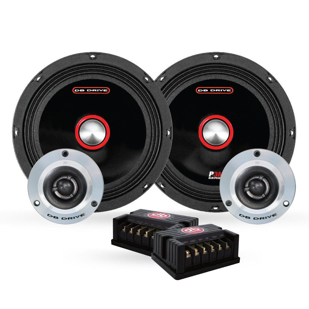 Db drive 300 watts 8 pro audio midrange car stereo component speaker system