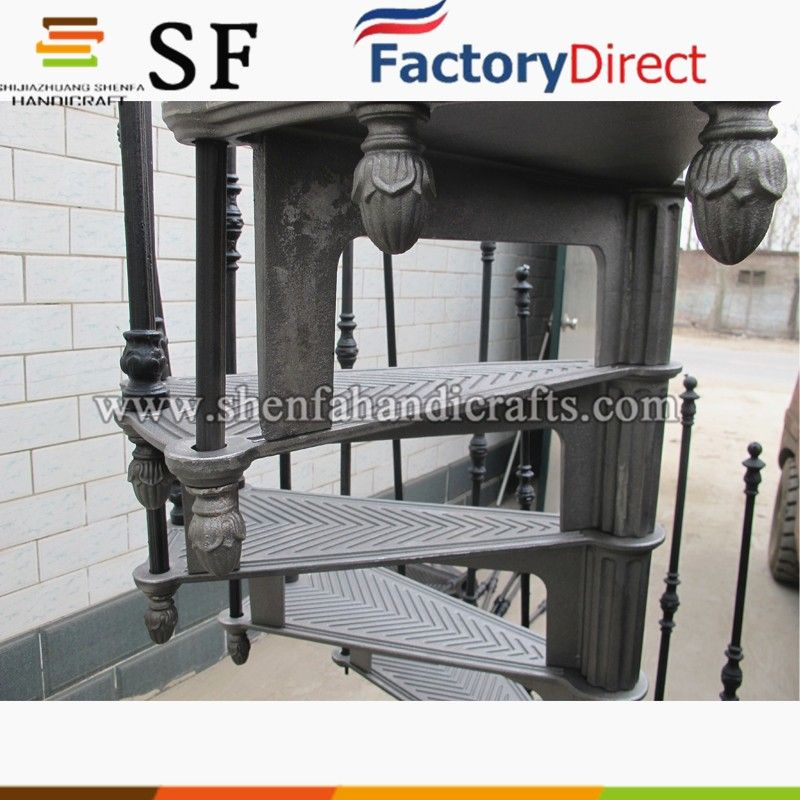 Best Wrought Iron Spiral Staircase Cast Iron Stair For Sale 640 x 480