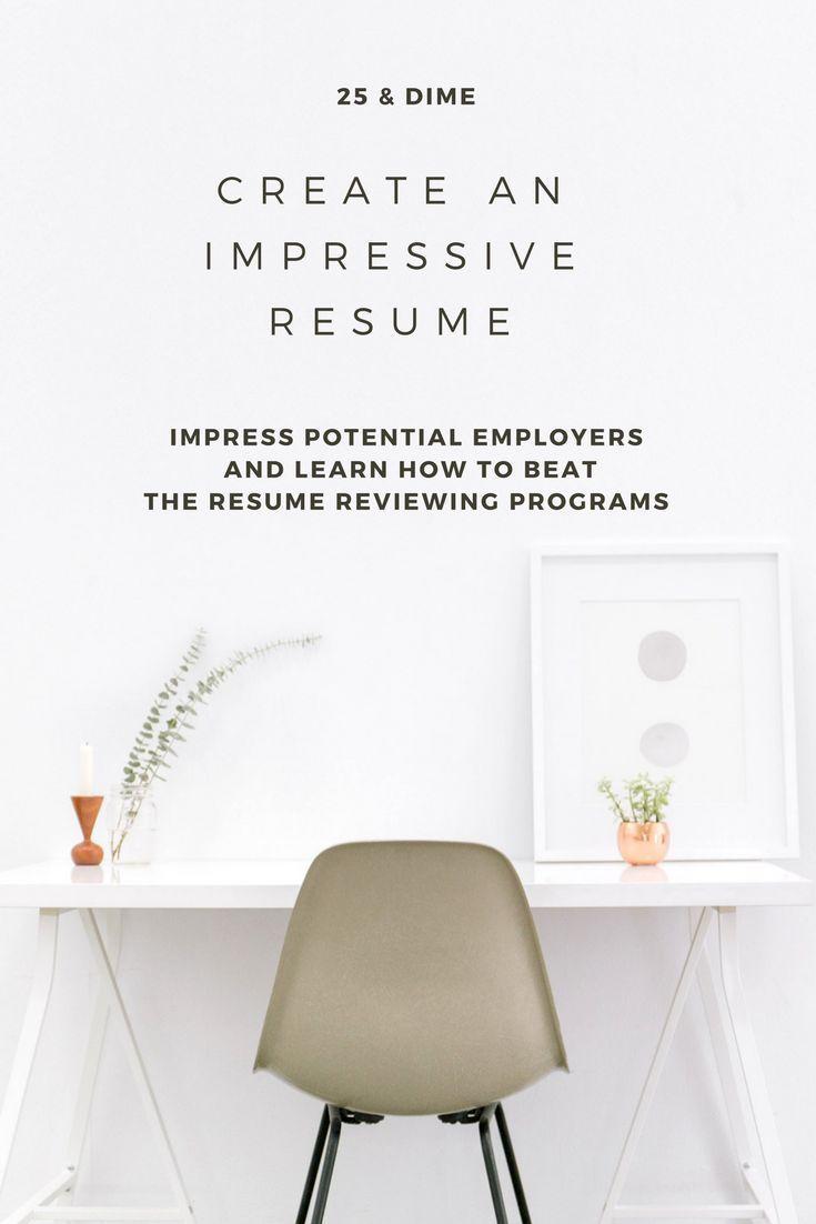 How to create and impressive resume resume tips create