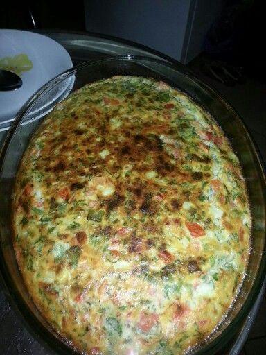 Fritata عجة بيض بالفرن Food Breakfast Quiche