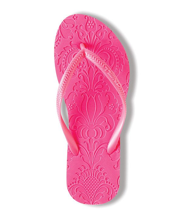 Take a look at this Pink Marrakesh Flip-Flop on zulily today!