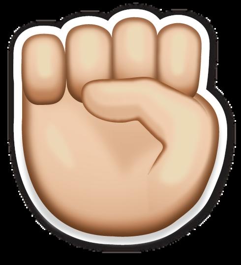 Raised Fist Adesivos Sticker Emocoes Decoracao De Caderno