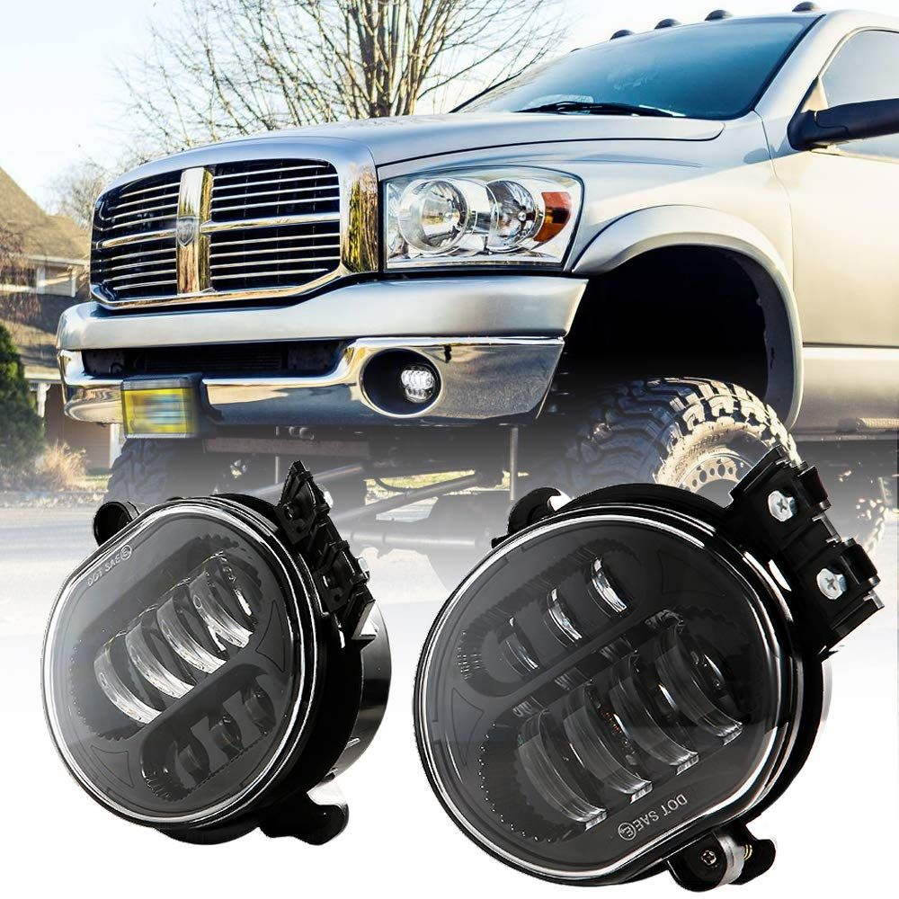 For 2002 05 Dodge Ram 1500 2500 3500 Harley Style Pair Black Headlights Headlamp Dodge Ram 1500 Dodge Ram Dodge Ram 1500 Accessories