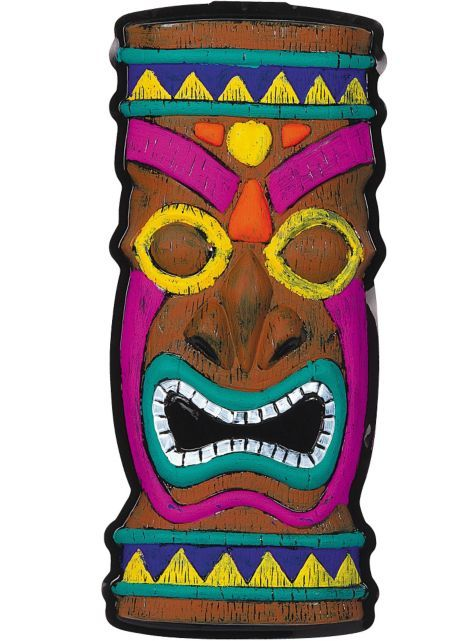 Tiki Idol Decoration 14in X 21in