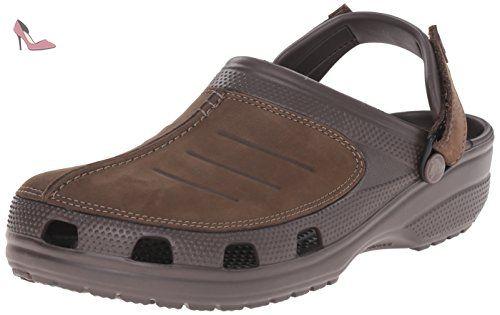 Crocband II.5 Lace Boot, Femme Bottes, Marron (Espresso/Mushroom), 39-40 EUCrocs