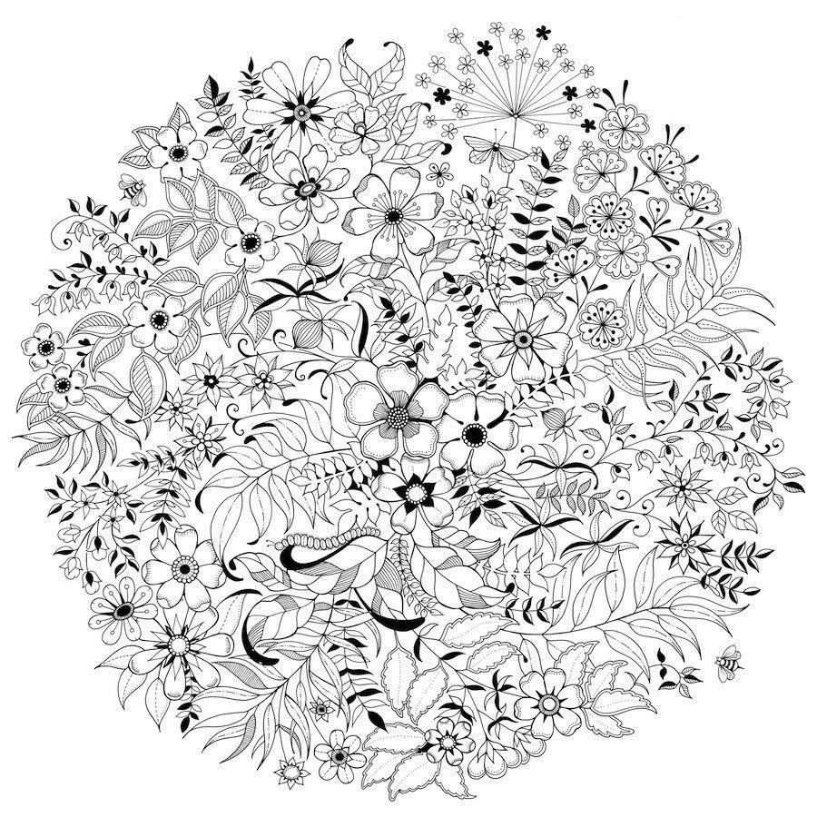 Flores | cuadros | Pinterest | Mandalas, Colorear y Flores