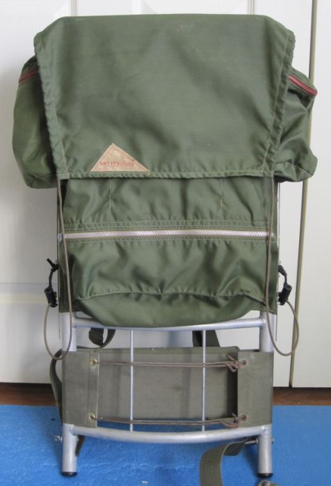 The Kelty pack was the first to use an aluminum frame I prefer an external  frame pack. 39402a12505ac