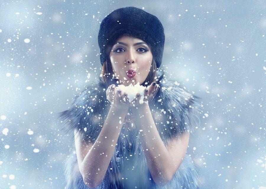 بورترية مميز للمصور علي الزيدي حائط صورة صور تصوير اشخاص حائط للصور Www Ph Wall Com Beauty Portrait Snow Photography