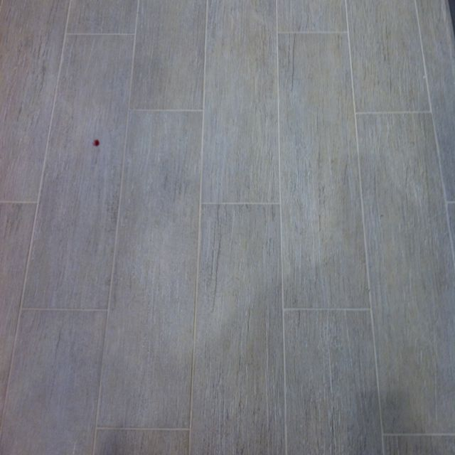 Does Floor And Decor Do Financing: Ceramic Woodgrain White And Silver Speckled Plank Tile
