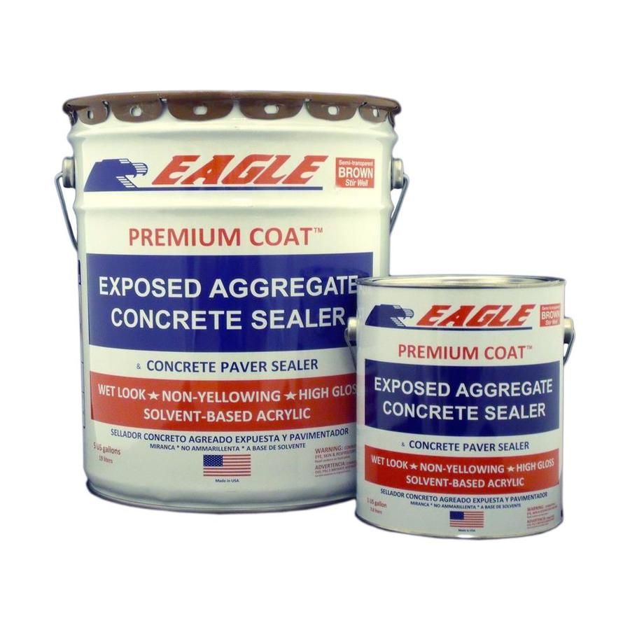 Eagle Brown High Gloss Waterproofer Actual Net Contents 5 Gallon