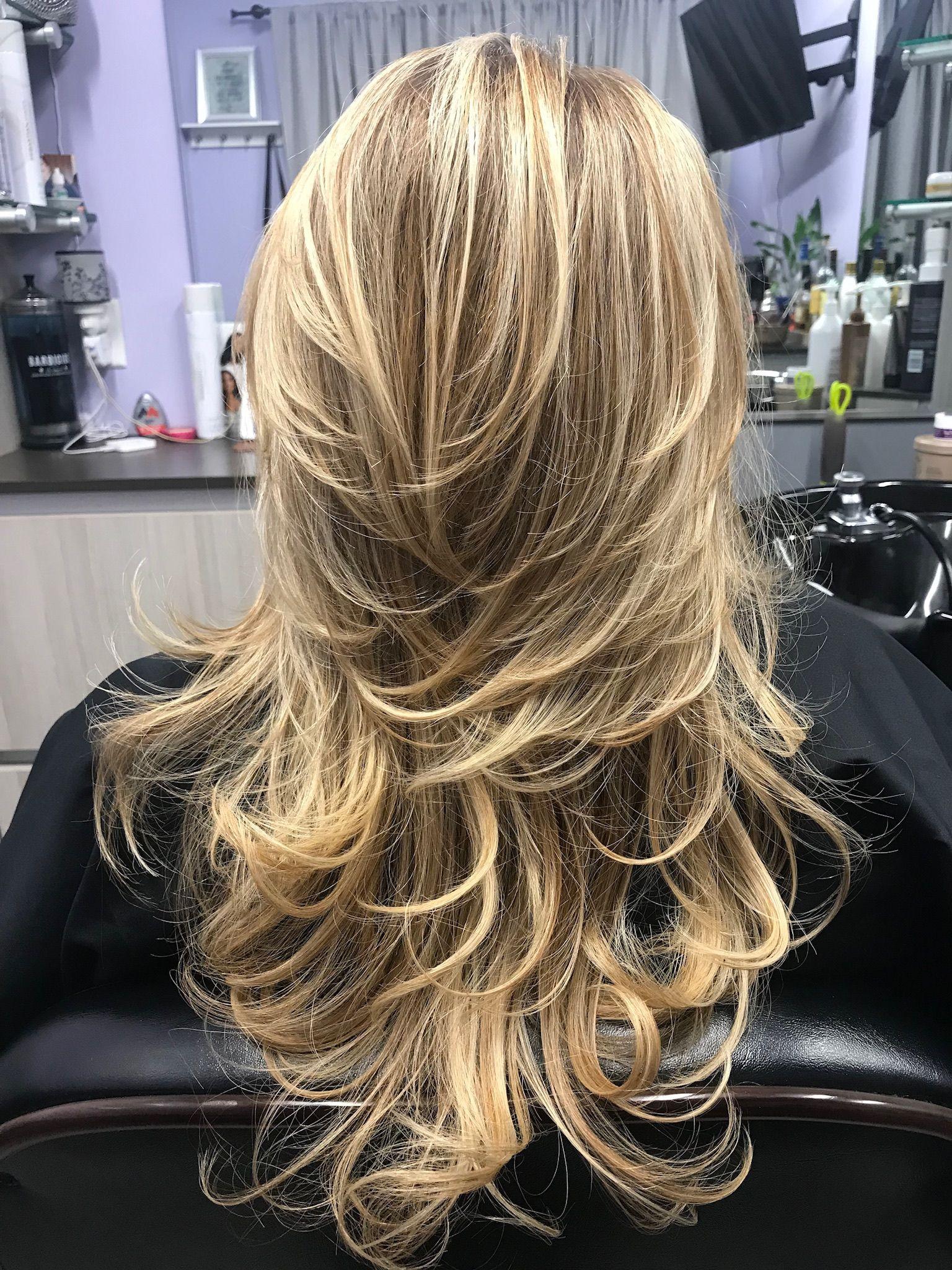 www.instagram.com/LizaBabeHair | Long layered haircuts ...