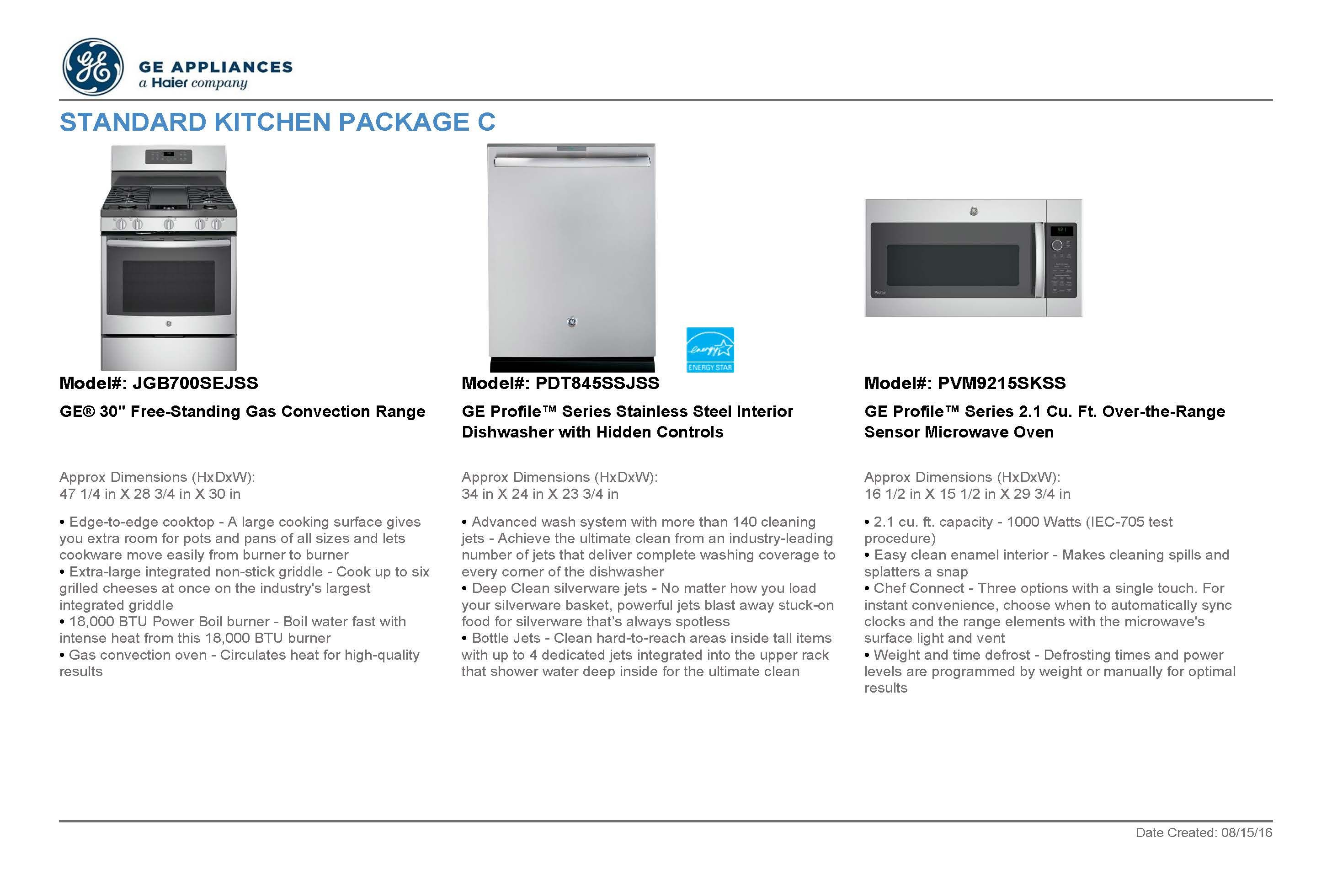 Standard Kitchen Appliances Upgrade Package C Stainless Steel For More Information On Kitchen Appliances Specialty Appliances Kitchen Appliance Packages