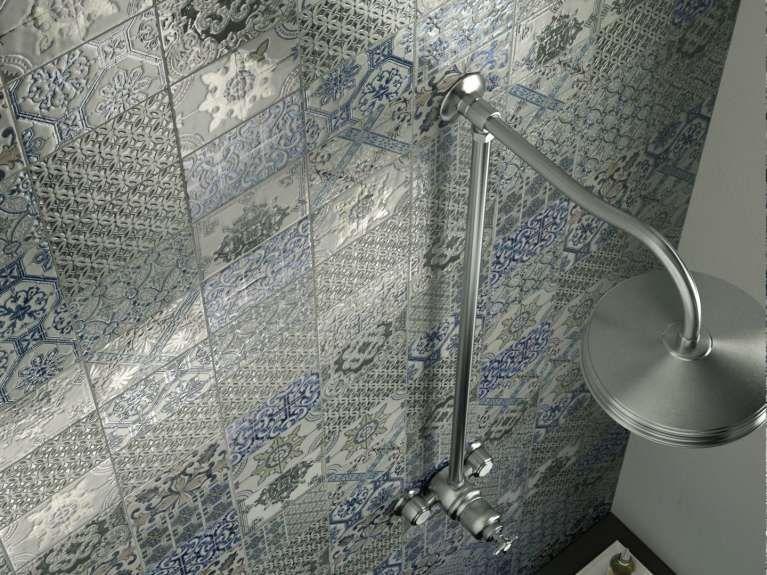 Piastrelle per il bagno rustico bagno bagno bagni