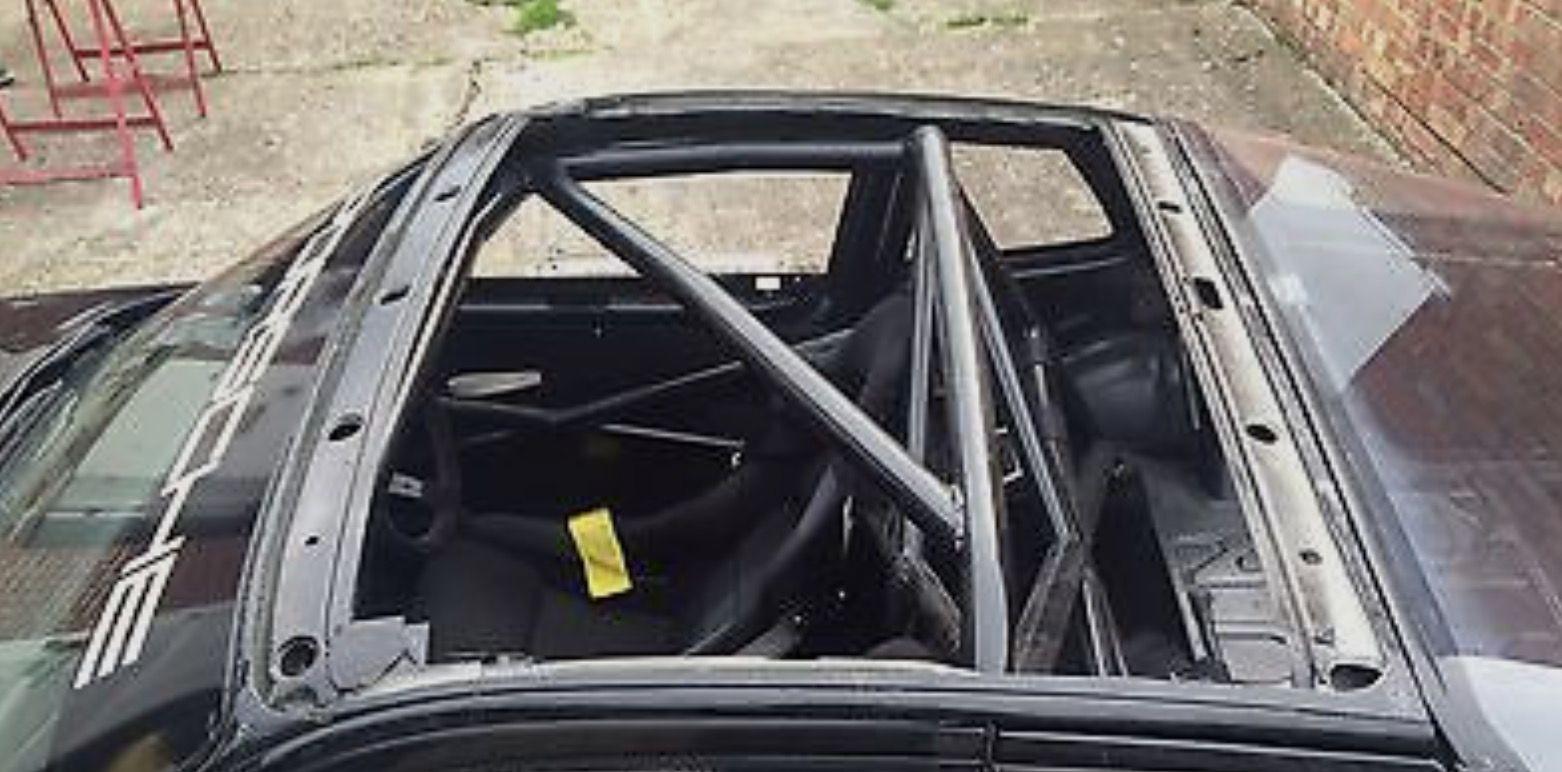 944 sunroof delete, prep for carbon fiber roof.